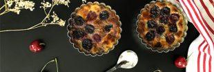 Savourez les toutes dernières cerises de la saison dans un clafoutis sans gluten