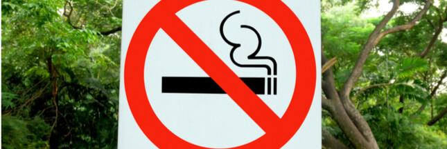 interdiction de fumer dans les parcs
