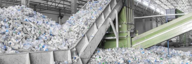 Objectif 100% de déchets plastiques recyclés pour les industriels