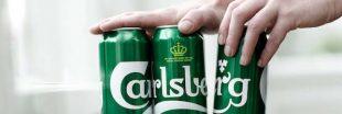 Carlsberg supprime le plastique du packaging de ses bières