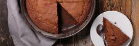 Un étonnant gâteau au chocolat sans beurre!