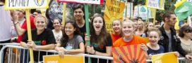 Partout dans le monde, des marches pour dénoncer le réchauffement climatique