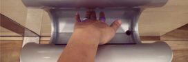 Pour votre santé, évitez les sèche-mains à air
