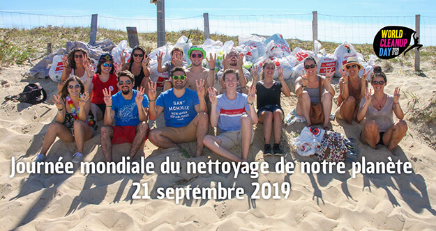 world clean up day 2019, nettoyage