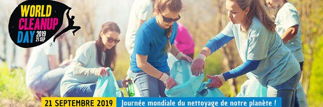 World Clean Up Day : participez à la plus grande opération de nettoyage du monde !
