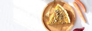 Recette tarte vegan aux carottes épices et graines