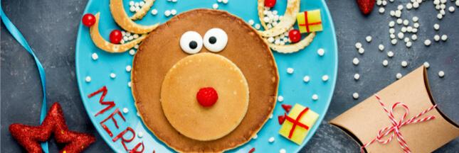 Des assiettes de Noël rigolotes pour faire patienter les enfants
