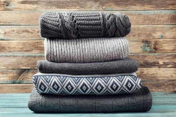 vetements laine