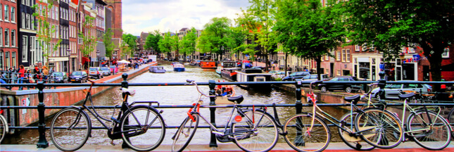 La Hollande, l'autre pays du vélo