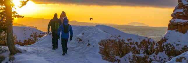 Quelles précautions prendre pour randonner en hiver?