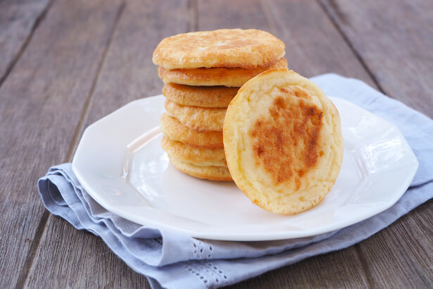 blinis vegan