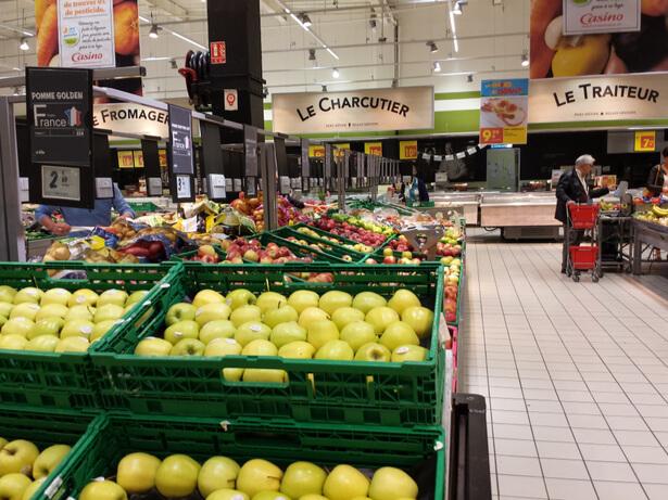 grande distribution française