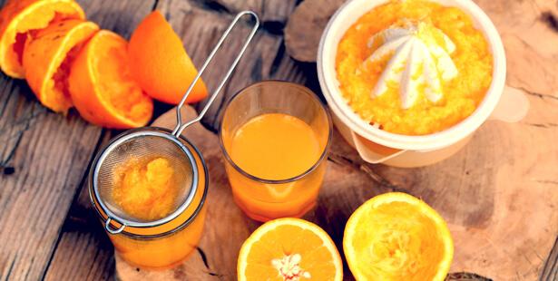 jus d'orange maison