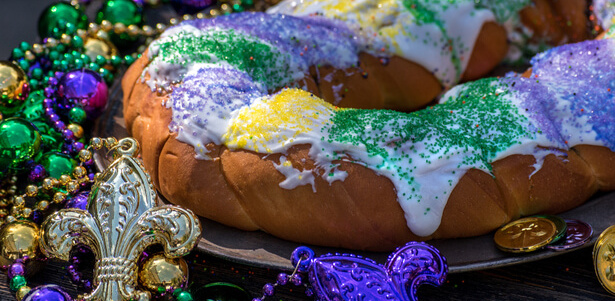 King Cake traditionnel