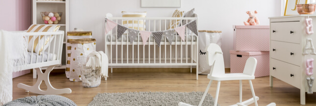 4 astuces pour une chambre de bébé propre… au naturel!