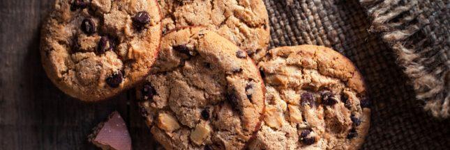 cookies noix caramélisées