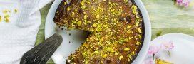Un gâteau pistaches et fleur d'oranger pour un goûter qui change !