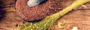 Pourquoi les graines de lin vous donnent la fibre santé