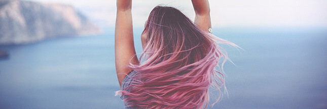 Les soins naturels pour cheveux colorés