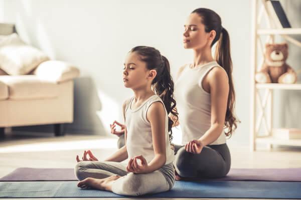 Appli de méditation en famille