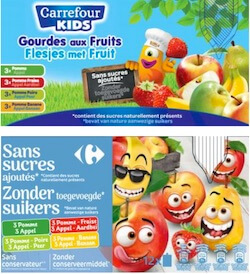 rappel produit gourde fruits