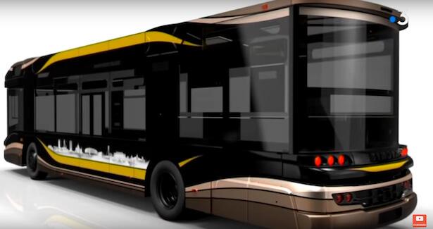premier bus à hydrgène