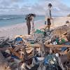 Les îles Cocos, jadis paradisiaques à présent couvertes de 400 millions de débris de plastiques !