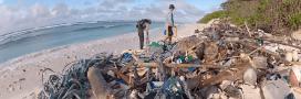 Les îles Cocos, jadis paradisiaques à présent couvertes de 400 millions de débris de plastiques!