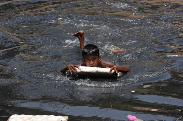 pollution antibiotiques rivières