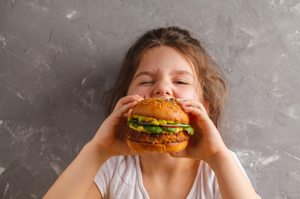 manger vegan enfant bébé