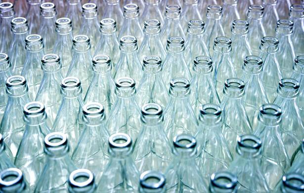 machine à laver les bouteilles en verre recyclage