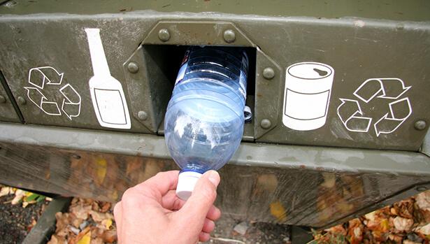 bouteilles consignées plastique recyclage