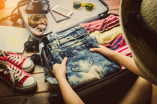 liste valise vacances check-list