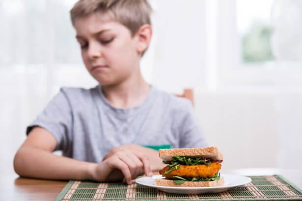 enfant vegetarien accompagner