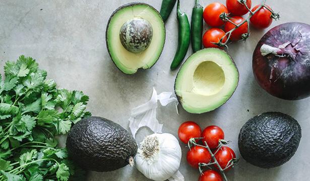 guacamole recette à la coriandre fraîche