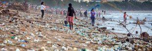 Des tonnes de déchets sur la plage : les images de la honte