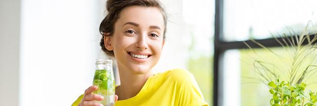 Eau de concombre et eau de gingembre au citron: une recette facile et fraîche!