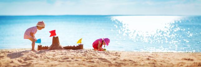 A la plage, sensibilisez les enfants aux écogestes !