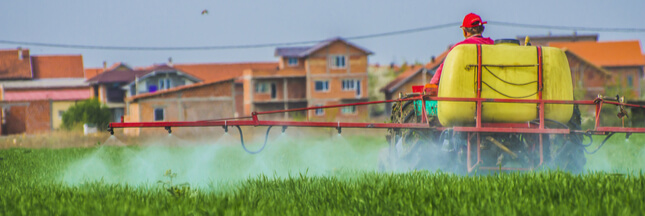 Pétition : interdisons l'usage des pesticides près des habitations !
