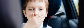 Mal des transports: que faire si mon enfant est malade en voiture?
