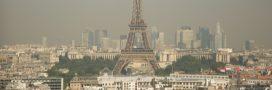 Pollution à l'ozone: un mercredi dans le rouge