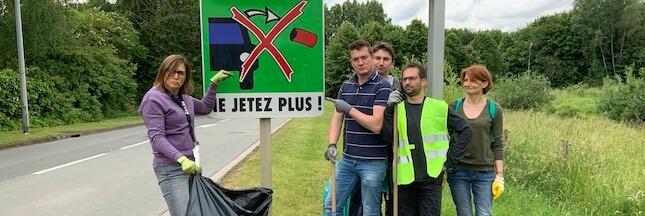 Comment organiser une opération de ramassage des déchets sur la voie publique?