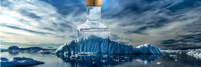 Eau d'iceberg en bouteille, quand le marketing dérive !