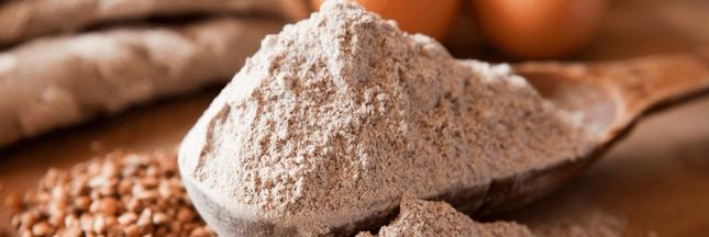 Rappel produit - paquets de farine de sarrasin bio et sans gluten