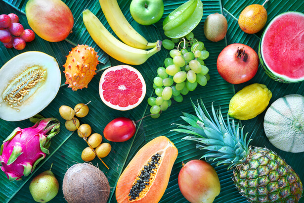 fruits locaux en région