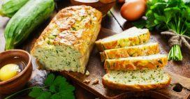 Le pain de courgettes au basilic, star des apéros et des pique-niques réussis!