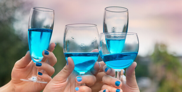 vin bleu apéritif