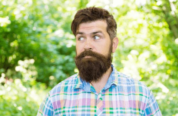 Une jolie barbe au naturel