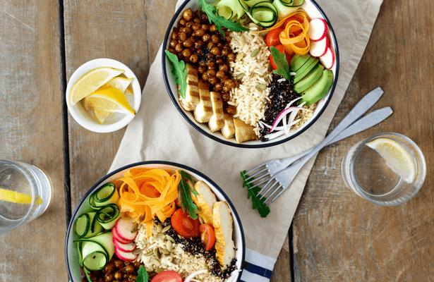 bowl végétarien