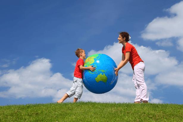 afp enfant ecolo